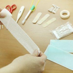 足首の捻挫をは最初の処置が大切です。