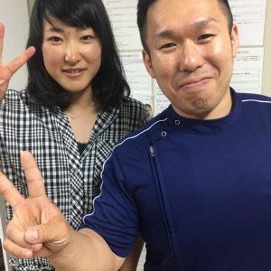 女子プロ野球選手 植村美奈子投手が来院!!
